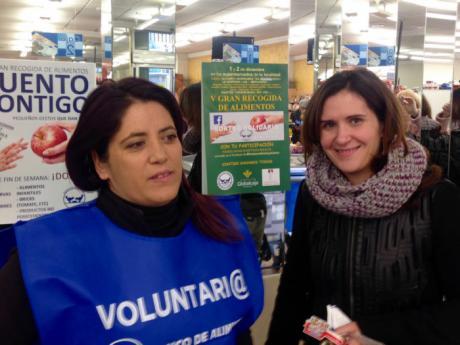 La Fundación Globalcaja Cuenca, en la V Recogida de Alimentos