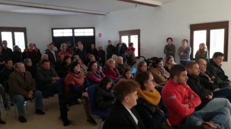 Acto informativo sobre las macrogranjas proyectadas en Tinajas