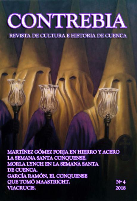"La Semana Santa conquense presente en el nº 4 de la revista ""Contrebia"""