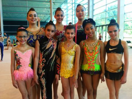 Grandes resultados del CD Huécar en el Campeonato Regional de Gimnasia Rítmica