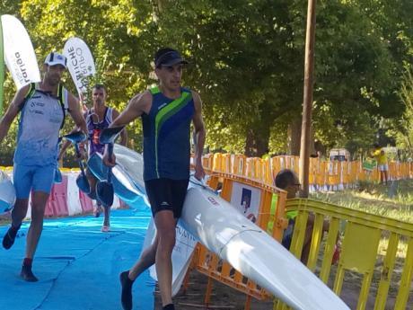El Club Piragüismo 'Las Grajas' en el Campeonato de España de Maratón