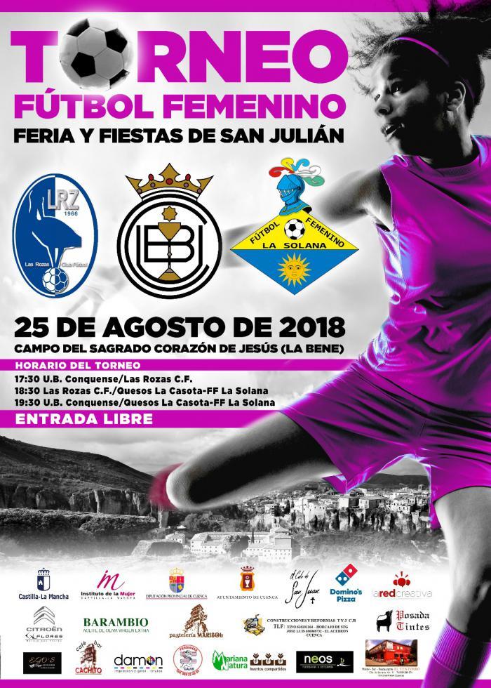 Mañana se disputará el torneo de fútbol femenino de las Ferias y Fiestas de San Julián