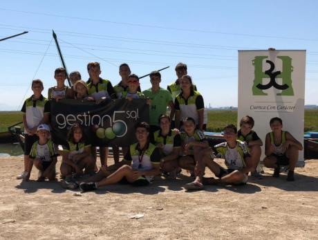 El Club Piragüismo Cuenca con Carácter participa en la Travesía de la Albufera