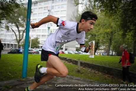 Alba Muñoz y Andrés Moya suben al podio del Campeonato de España por Comunidades Autónomas de Orientación