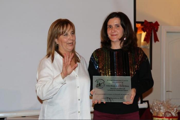 La Fundación Globalcaja Cuenca, reconocida por el Club Piragüismo 'Cuenca con Carácter'
