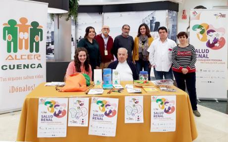 La Fundación Globalcaja Cuenca, con ALCER en el #DiaMundialdelRiñon
