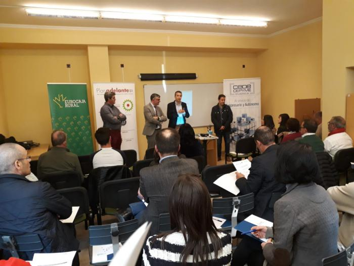 Cerca de 100 empresarios asisten en las sedes de Iniesta y San Clemente a las jornadas sobre ayudas de la Junta