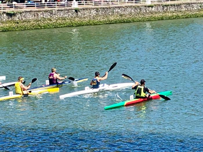 El Club de Piragüismo Las Grajas en el Campeonato de España de ríos y travesías