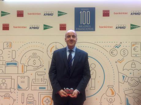 Antonio Mota, director financiero de Globalcaja, reconocido como uno de los mejores financieros del año