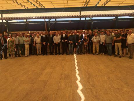 Encuentro con el sector agrario y ganadero de Globalcaja en FERCAM