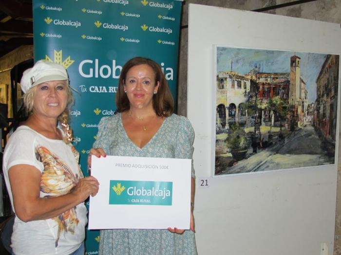 Globalcaja, en el II Certamen de Pintura UNECAMAN