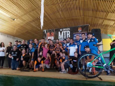 Belmonte acogía la penúltima prueba puntuable para el XII Circuito MTB Diputación