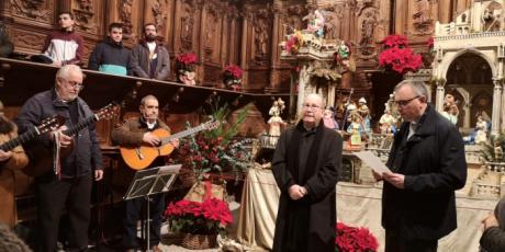 """El obispo felicita a los conquenses la Navidad y les recuerda que """"la Navidad es la puerta por la que entra la alegría en el mundo"""""""