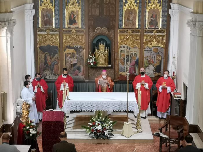 Apertura del Curso Académico 2020-2021 en los Seminarios Diocesanos de Cuenca con tres nuevos seminaristas