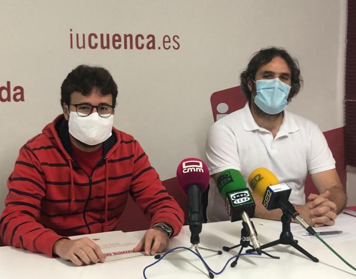 Empleo, industria y servicios sociales, las propuestas de IU para la reconstrucción de Cuenca