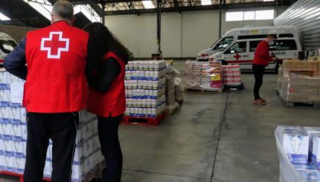 Cruz Roja distribuye 120.945 kilos de alimentos a 3.700 personas vulnerables de la provincia