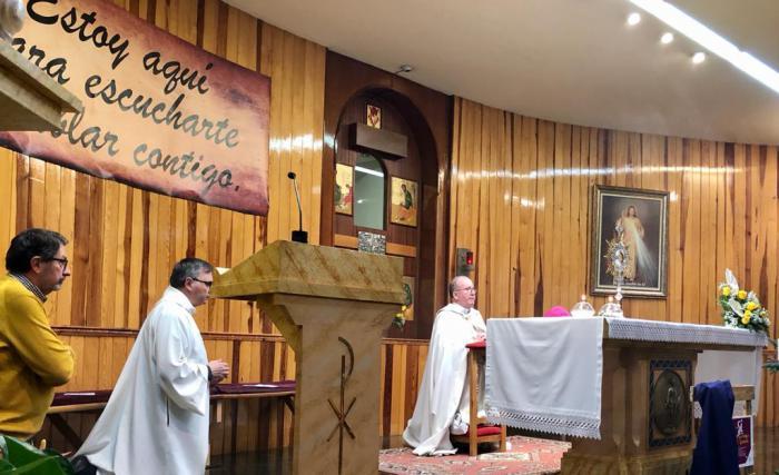 Quinto aniversario de la capilla de Adoración Eucarística Perpetua de la ciudad de Cuenca