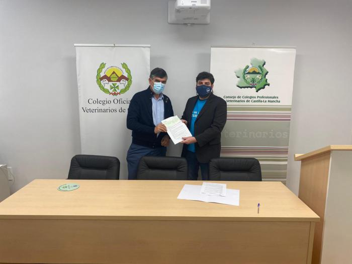 El Colegio de Veterinarios suma fuerzas con el Banco de Alimentos