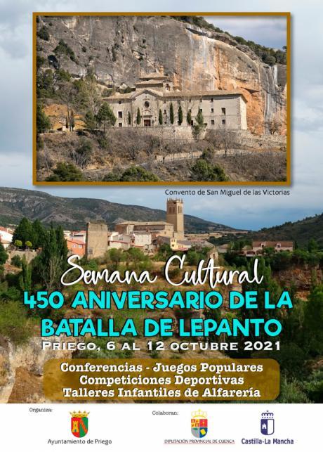 Priego conmemorará el 450 aniversario de la Batalla de Lepanto