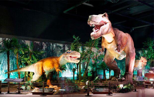 Dinosaurs Tour, la mayor exposición de dinosaurios animatrónicos, llega a Cuenca