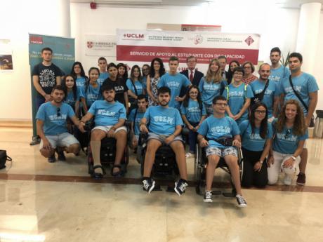 Diecisiete preuniversitarios con discapacidad viven una experiencia universitaria inclusiva en la UCLM