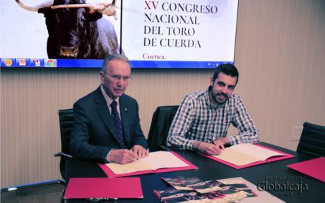 Globalcaja colaboro con el XV Congreso Nacional del Toro de Cuerda