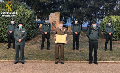Visita del Coronel Ángel María Cantera a la Comandancia de la Guardia Civil de Cuenca con motivo de su despedida como Subdelegado de Defensa