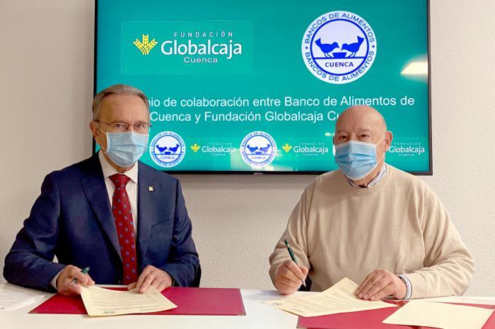 La Fundación Globalcaja Cuenca se vuelca con el Banco de Alimentos