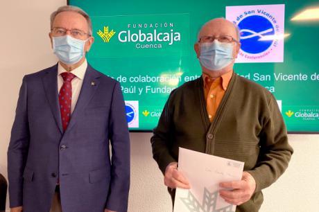 Renovado el apoyo de la Fundación Globalcaja Cuenca con la Sociedad San Vicente de Paúl