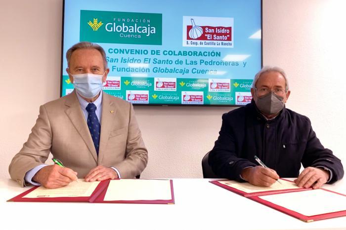 La Fundación Globalcaja Cuenca revalida su compromiso con el sector del Ajo Morado