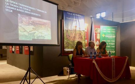 La Fundación Globalcaja Cuenca colabora en las Jornadas Romanas de la Villa de Noheda