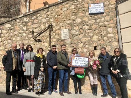 Cuenca rinde homenaje a Aurelio Cabañas con un mirador en el Casco Antiguo