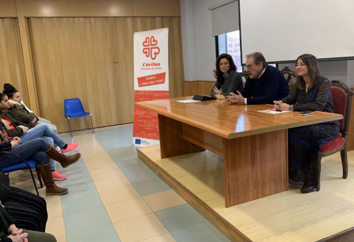 Inaugurados los talleres de formación para el año 2020 de Cáritas