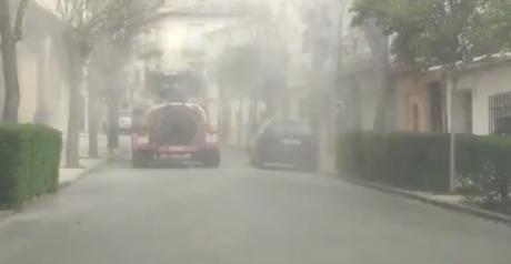 Varios pueblos de la provincia empiezan a fumigar los espacios públicos