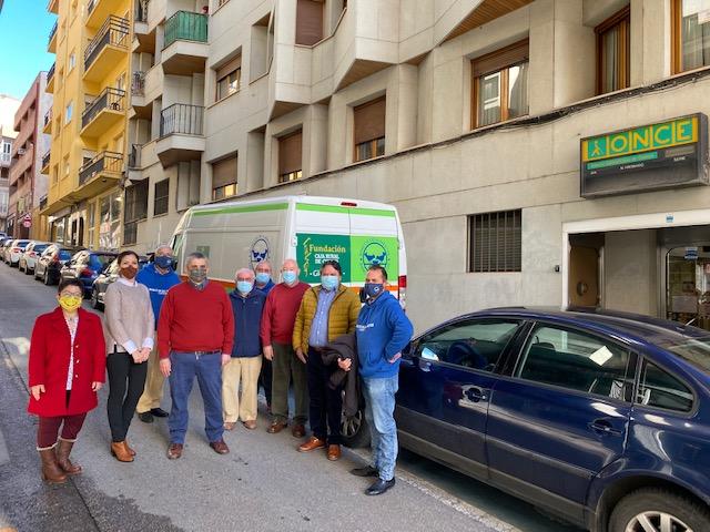 La familia del Grupo Social ONCE se suma y logra en solo un mes el reto de donar 111.111 kilos de alimentos contra la pandemia