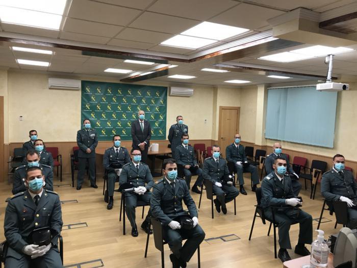 Se incorporan al servicio los nuevos suboficiales en la Comandancia de la Guardia Civil