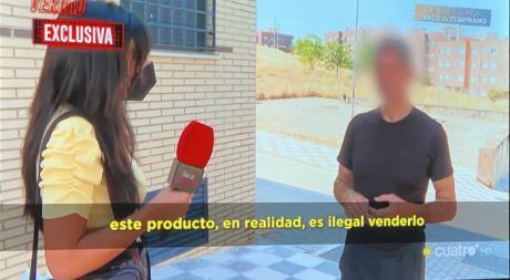 """El programa de televisión """"Todo es Verdad"""" destapa un laboratorio clandestino de CDS en la capital"""