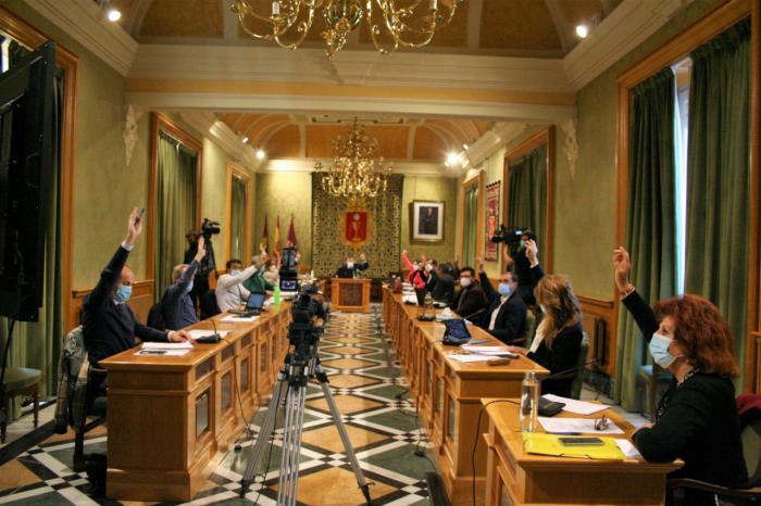 El pleno apoya el proyecto presentado por Ciudadanos para atraer inversión y residentes a la ciudad