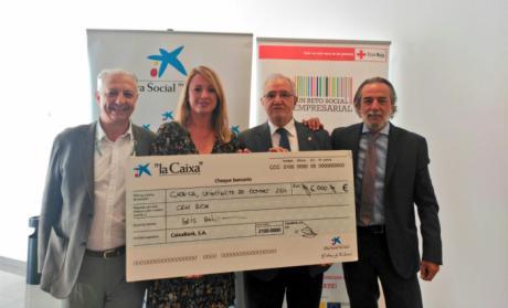 CaixaBank apoya la labor de Cruz Roja de crear mercados inclusivos con empresas de la provincia