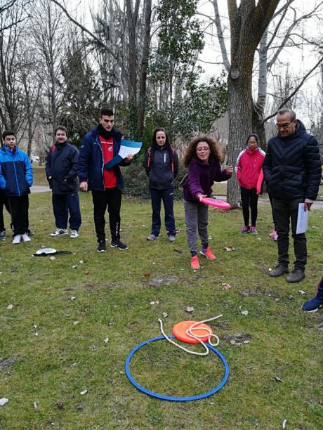 Más de 300 alumnos de Secundaria participan en la primera jornada de iniciación deportiva del Programa Somos Deporte