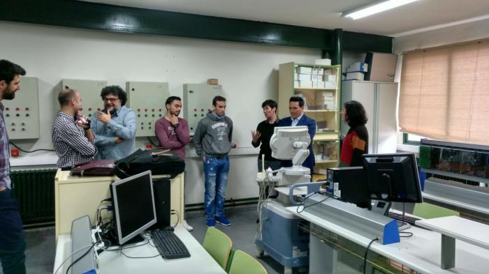 Alumnos del Ciclo de Grado Superior de Electromedicina Clínica conocen las últimas novedades sobre los equipos de diagnóstico de imagen médica