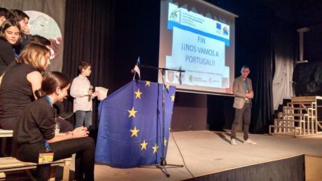 Jornada de difusión en el colegio Santa Ana sobre la movilidad a estonia dentro de su programa