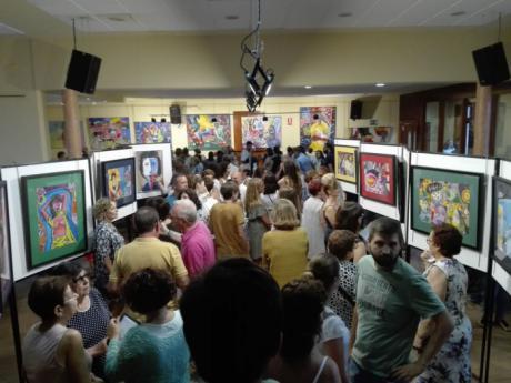El artista Tomás Viana Arroyo muestra obra en Mira
