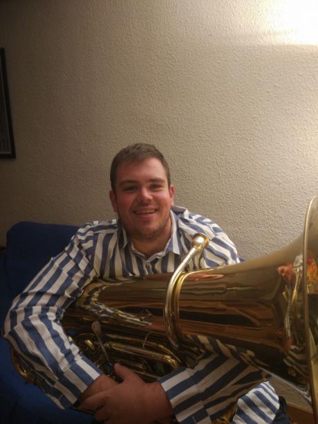 Roberto Punteros Cañego, nuevo director de la banda de música de Puebla de Almenara
