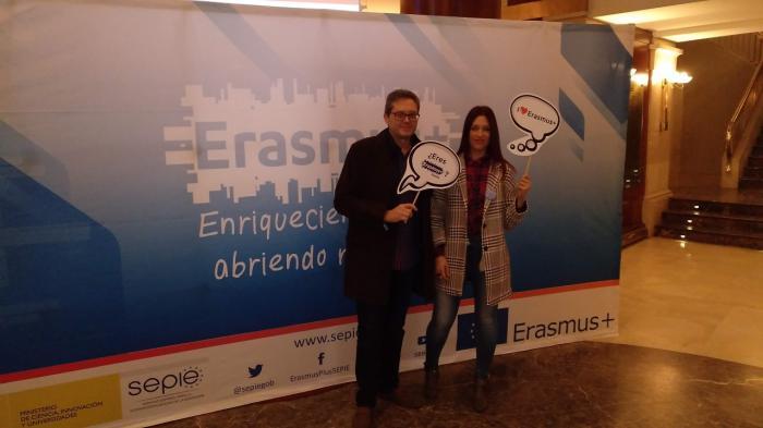 El Colegio Santa Ana en las jornadas anuales Erasmus+ en el Teatro Real de Madrid