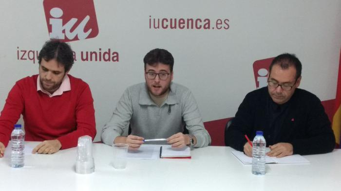 Juan Ramón Crespo y Jacobo Medianero, coordinadores regional y provincial de IU, respaldan a Pablo García como candidato en Cuenca