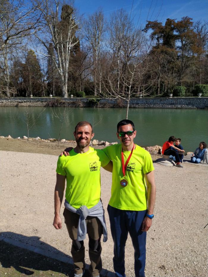 El Club de Piragüismo 'Las Grajas' en el campeonato autonómico de invierno de la Comunidad de Madrid