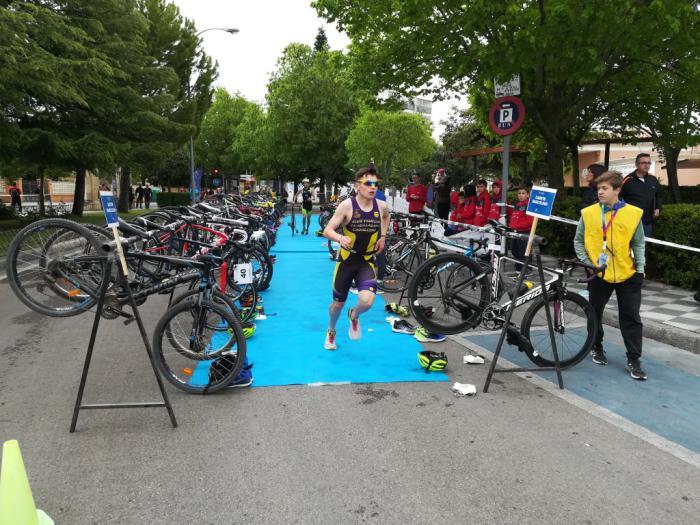 Brillante cierre en Cuenca del Campeonato Provincial de Triatlón en Edad Escolar