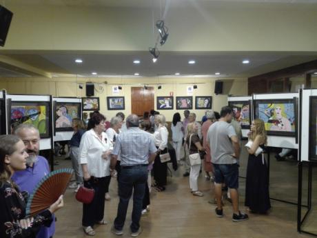 La exposición de Tomás Viana Arroyo y una conferencia sobre la representación del desnudo en el arte marcan la agenda cultural de las fiestas de verano de Mira