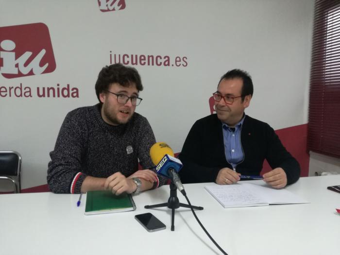 Crespo (IU) lamenta las descabezadas medidas de García-Page para la provincia de Cuenca